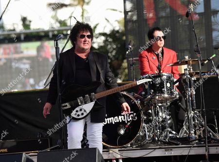 Wally Palmar, Brad Elvis. Wally Palmar, left and Brad Elvis of The Romantics perform at Magic City Casino on in Miami, Fla