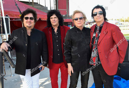 Wally Palmar, Mike Skill, Rich Cole, Brad Elvis. Wally Palmar, from left, Mike Skill, Rich Cole and Brad Elvis of The Romantics perform at Magic City Casino on in Miami, Fla
