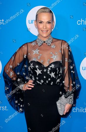 Molly Sims arrives at 7th Biennial UNICEF Ball at the Beverly Wilshire Hotel, in Beverly Hills, Calif