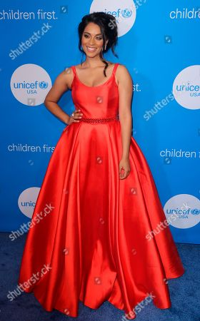 Lilly Singh arrives at the 7th Biennial UNICEF Ball at the Beverly Wilshire Hotel, in Beverly Hills, Calif