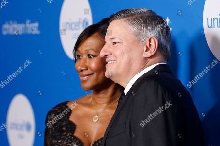 Nicole Avant, Ted Sarandos. Nicole Avant, left, and Ted Sarandos arrive at the 7th Biennial UNICEF Ball at the Beverly Wilshire Hotel, in Beverly Hills, Calif
