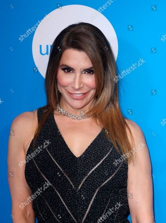 Jo Champa arrives at the 7th Biennial UNICEF Ball at the Beverly Wilshire Hotel on Saturday, April 14,2018, in Beverly Hills, Calif