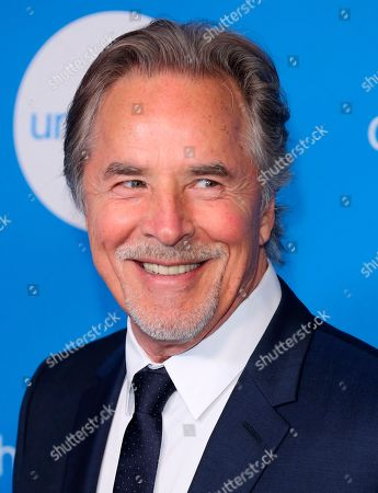 Don Johnson arrives at the 7th Biennial UNICEF Ball at the Beverly Wilshire Hotel on Saturday, April 14,2018, in Beverly Hills, Calif