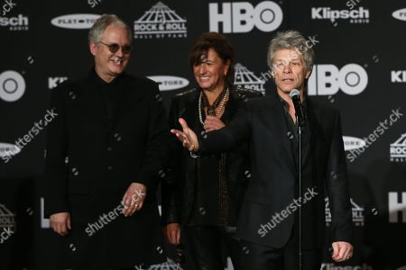 Hugh Mcdonald, Richie Sambora, Jon Bon Jovi