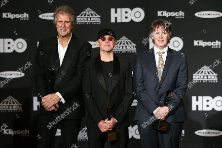 John Illsley, Alan Clark, Guy Fletcher of Dire Straits