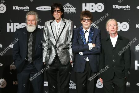 Editorial picture of Rock & Roll Hall of Fame Induction Ceremony, Press Room, Cleveland, USA - 14 Apr 2018