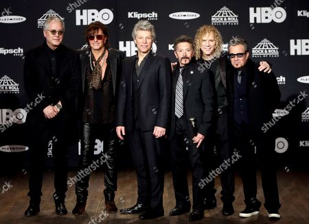 Hugh Mcdonald, Richie Sambora, Jon Bon Jovi, Alec John Such, David Bryan, Tico Torres