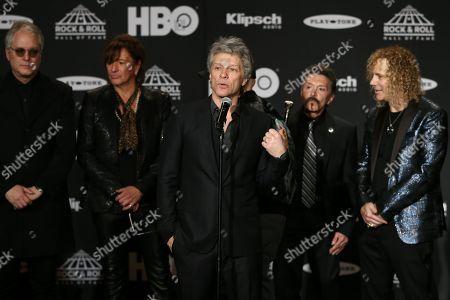 Hugh Mcdonald, Richie Sambora, Jon Bon Jovi, Alec John Such, David Bryan