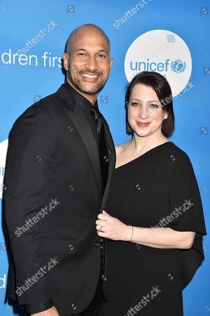 Actor Keegan-Michael Key and actress Elisa Pugliese