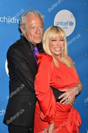Actress Suzanne Somers and husband Alan Hamel