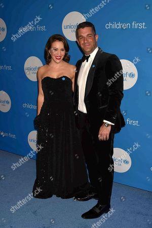 Actress Alyssa Milano and husband Dave Bugliari