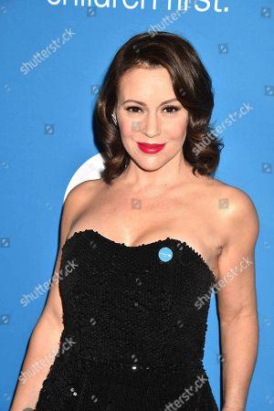 Stock Image of Actress Alyssa Milano