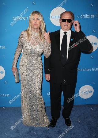 Editorial photo of Unicef Ball, Arrivals, Los Angeles, USA - 14 Apr 2018