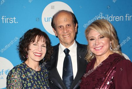 Lori Milken, Michael Milken, Caryl M. Stern
