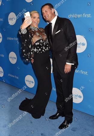 Molly Sims and husband Scott Stuber