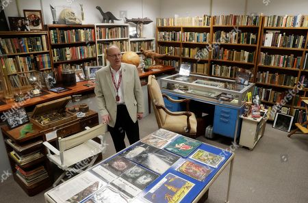 Center for Ray Bradbury Studies director Jonathan Eller talks about the vast trove of manuscripts, correspondence and memorabilia that science fiction-fantasy writer Ray Bradbury in Indianapolis. The Center for Ray Bradbury Studies at Indiana University-Purdue University at Indianapolis has landed a grant from the National Endowment for the Humanities to begin planning how to preserve the mammoth collection