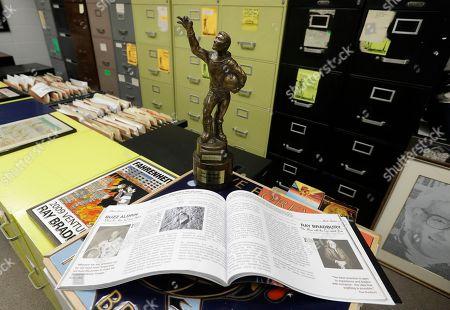 Editorial image of Preserving Ray Bradbury, Indianapolis, USA - 12 Apr 2018
