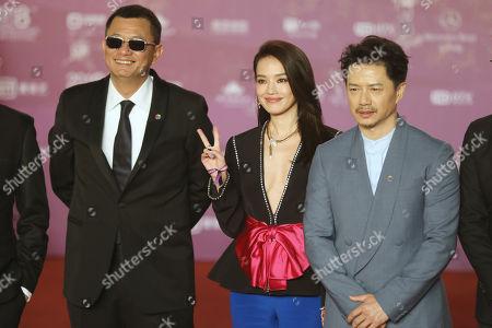 Shu Qi, Wong Kar Wai and Duan Yihong