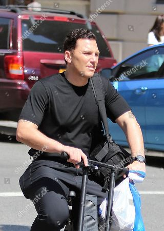 Editorial image of Sean Avery out and about, New York, USA - 14 Apr 2018