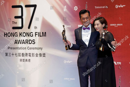 Editorial photo of Film Awards, Hong Kong, Hong Kong - 16 Apr 2018