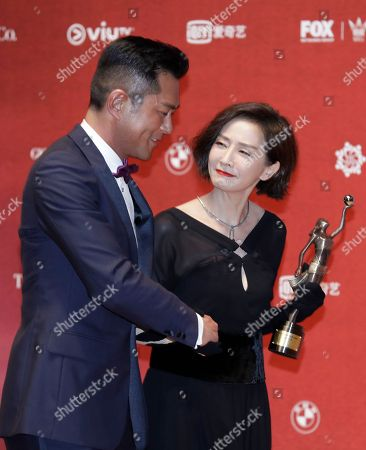 Editorial picture of Film Awards, Hong Kong, Hong Kong - 16 Apr 2018
