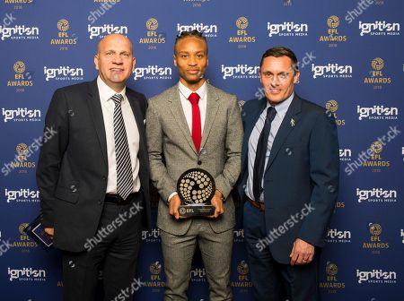 Editorial image of EFL Awards 2018, Hilton on Park Lane Hotel, London, UK - 15 Apr 2018
