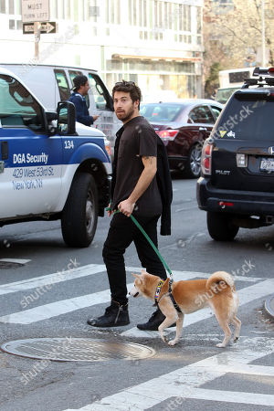 Editorial photo of  Jacob Hoffman out and about, New York, USA - 13 Apr 2018