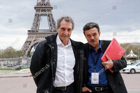 Jean-Jacques Bourdin and Edwy Plenel
