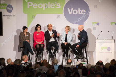 Editorial image of People's Vote on Brexit campaign, London, UK - 15 Apr 2018