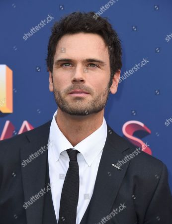 Chuck Wicks arrives at the 53rd annual Academy of Country Music Awards at the MGM Grand Garden Arena, in Las Vegas