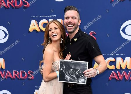 Marielle McKamy, TK McKamy. Marielle McKamy, left, and TK McKamy show a sonogram as they arrive at the 53rd annual Academy of Country Music Awards at the MGM Grand Garden Arena, in Las Vegas