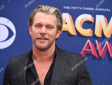 Craig Wayne Boyd arrives at the 53rd annual Academy of Country Music Awards at the MGM Grand Garden Arena, in Las Vegas