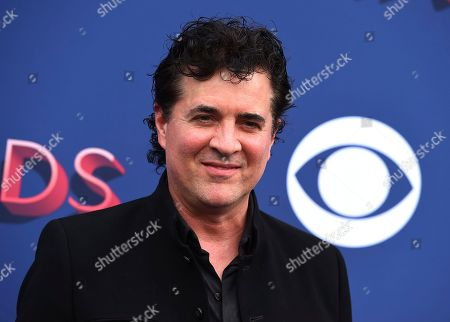Scott Borchetta arrives at the 53rd annual Academy of Country Music Awards at the MGM Grand Garden Arena, in Las Vegas