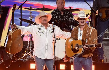 Editorial photo of 53rd Annual Academy Of Country Music Awards - Show, Las Vegas, USA - 15 Apr 2018