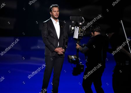 Luke Bryan at the 53rd annual Academy of Country Music Awards at the MGM Grand Garden Arena, in Las Vegas