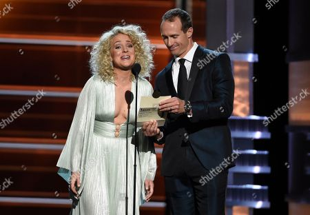 Cam, Drew Brees. Cam, left, and Drew Brees present the award for song of the year at the 53rd annual Academy of Country Music Awards at the MGM Grand Garden Arena, in Las Vegas