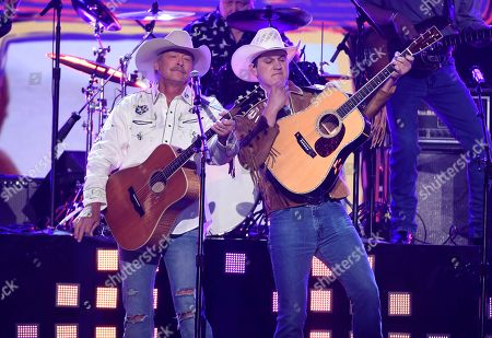 Editorial image of 53rd Annual Academy Of Country Music Awards - Show, Las Vegas, USA - 15 Apr 2018