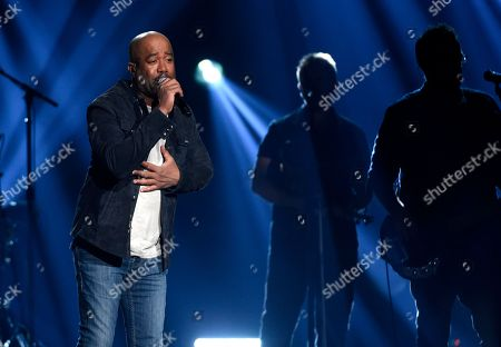 """Darius Rucker performs """"For The First Time"""" at the 53rd annual Academy of Country Music Awards at the MGM Grand Garden Arena, in Las Vegas"""