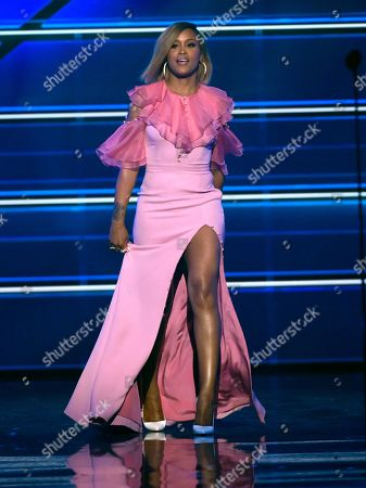 Eve appears on stage at the 53rd annual Academy of Country Music Awards at the MGM Grand Garden Arena, in Las Vegas