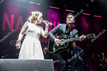 Editorial picture of 'Nashville' TV show in concert at First Direct Arena, Leeds, UK - 15 Apr 2018
