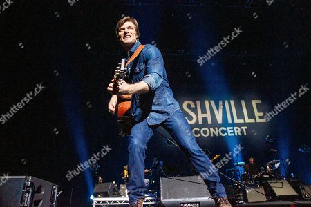 Editorial photo of 'Nashville' TV show in concert at First Direct Arena, Leeds, UK - 15 Apr 2018