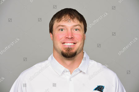 Chase Blackburn of the Carolina Panthers NFL football team. This image reflects the Carolina Panthers active roster as of when this image was taken