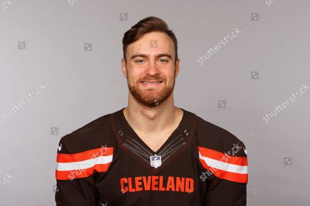 Justin Currie of the Cleveland Browns NFL football team. This image reflects the Cleveland Browns active roster as of when this image was taken