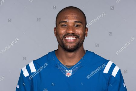 Erik Swoope of the Indianapolis Colts NFL football team. This image reflects the Indianapolis Colts active roster as of when this image was taken