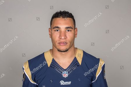 Kevin Davis of the Los Angeles Rams NFL football team. This image reflects the Los Angeles Rams active roster as of when this image was taken