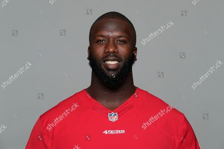Quinton Dial of the San Francisco 49ers NFL football team. This image reflects the San Francisco 49ers active roster as of when this image was taken