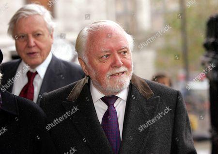Sir Richard Attenborough And Sir David Attenborough Peter Ustinov Memorial.