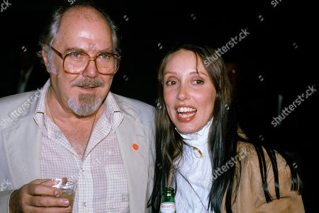 Stock Picture of Robert Altman & Shelley Duvall