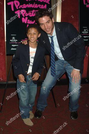 Michael Algieri and Josh Radnor