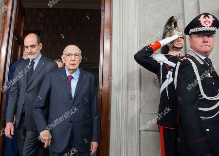 Editorial photo of Talks on forming a new Italian government, Rome, Italy - 13 Apr 2018